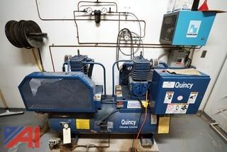Quincy Duplex Air Compressor/HVAC