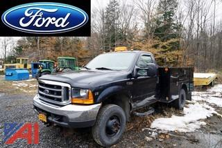 2001 Ford F-350 XL SD 4WD Utility Truck