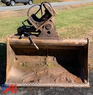 "60"" Tilting Ditching Bucket"