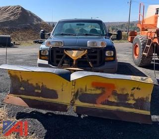 2006 Ford F350 Pickup Truck with Plow