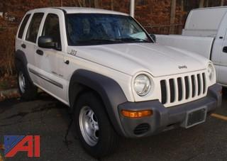 (#37) 2002 Jeep Liberty SUV