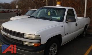 (#38) 2001 Chevy Silverado 1500 Pickup Truck