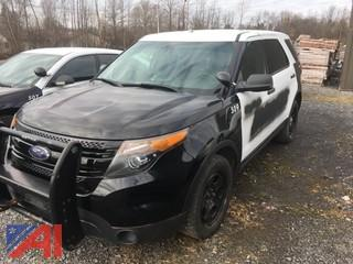 2015 Ford Explorer/Police Package SUV