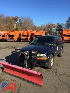 2004 Chevrolet Blazer SUV with Plow