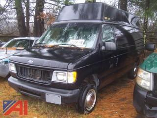 2001 Ford E350 Handicap Van