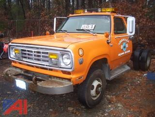 1974 Dodge W300 Chassis Cab