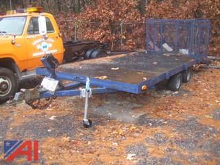 16' Tandum Axle Trailer