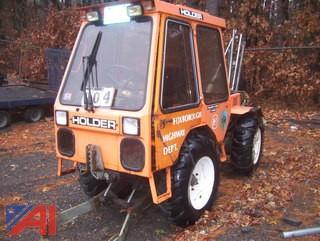 1989 Holder C500 Tractor