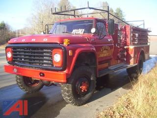 1976 Ford F600 Fire Truck
