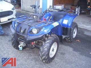 2008 Yamaha Grizzly 450 ATV