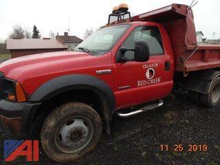 2006 Ford F550 Dump Truck