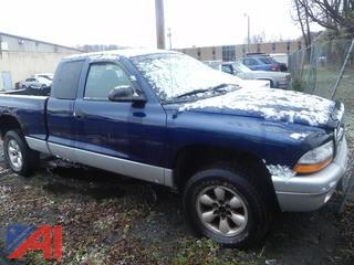 (#2) 2004 Dodge Dakota Pickup Truck