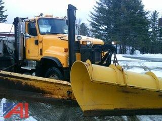 (A5) 2009 International 5500i Cab & Chassis with Plow