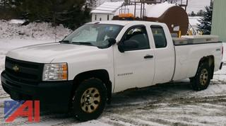 (A7) 2010 Chevy Silverado 1500 Extended Cab/Long Bed Pickup Truck