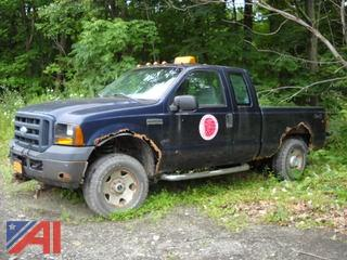 2006 Ford F250 Extended Cab Pickup Truck