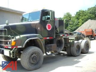 2009 Freightliner FLD120 Military Cab and Chassis