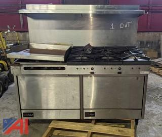 Southbend Select Gas Stove & Griddle
