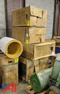 Insulated Fiberglass PVC Pipe Fitting Covers
