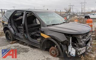 2016 Ford Explorer SUV/Police Interceptor (Parts Only)