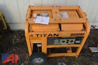 Titan 8500M Generator