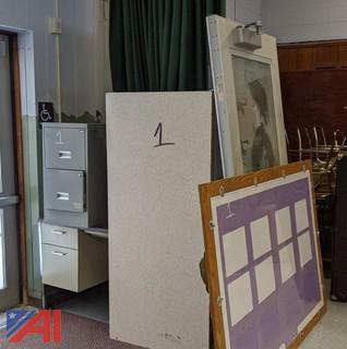 Display Board, Desks & More