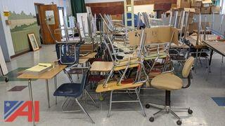 Various Student Desks & Chairs