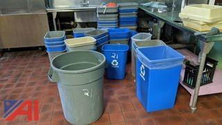 Various Trash Receptacles