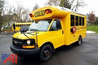 2010 Chevy Blue Bird Express 3500 School Bus/86