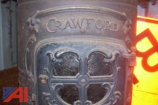 Antique Crawford Coal Stove