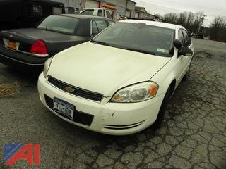 2006 Chevy Impala 4 Door/Police Vehicle