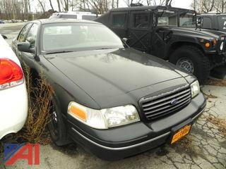 1999 Ford Crown Victoria 4 Door/Police Interceptor