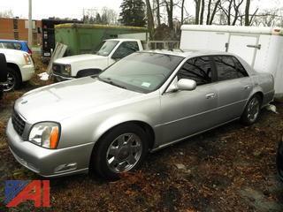 2001 Cadillac Deville 4 Door