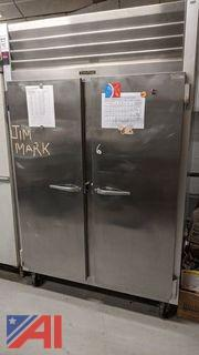 Traulsen Double Door Stainless Steel Freezer