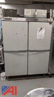 Hobart Bach Double Door Freezer