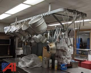 9' Overhead Pot & Pan Rack