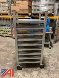 Rolling Rack & Flat Trays