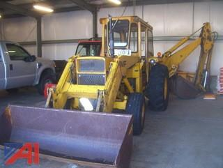 1973 Massey Ferguson MF50A Backhoe Loader