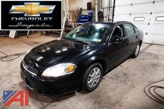 2008 Chevy Impala 4 Door Sedan