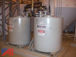 Tetrasolv Filtration Tanks