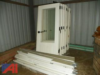 Commercial Metal Doors with Windows