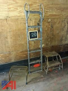 Aluminum Boarding Ladder & Metal Steps