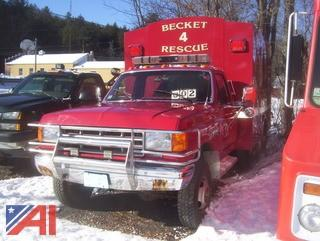 1991 Ford F350 Rescue Truck
