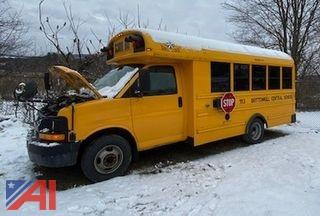 (113) 2008 Chevy Express 3500 Mini School Bus