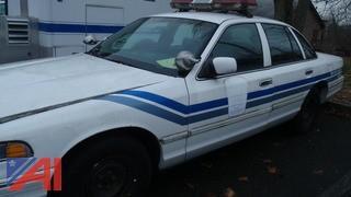 1996 Ford Crown Victoria 4 Door/Police Interceptor