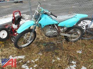 2003 Suzuki DR125 Motorcycle