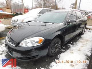 (5017) 2008 Chevy Impala 4 Door