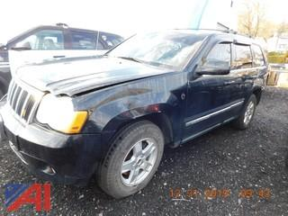 (5231) 2008 Jeep Grand Cherokee SUV