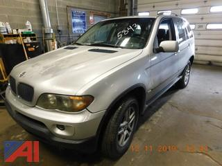 (5843) 2005 BMW X5 SUV