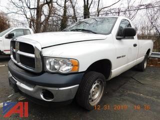 (652) 2005 Dodge Ram 1500 Pickup Truck