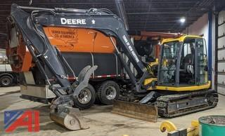 **4% BP** 2019 John Deere 85G Hydraulic Excavator